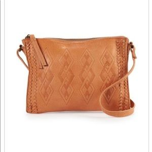 DAY & MOOD Leather Penny Crossbody